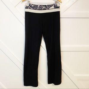 Lululemon Floral Groove Flare Yoga Pants Sz 10